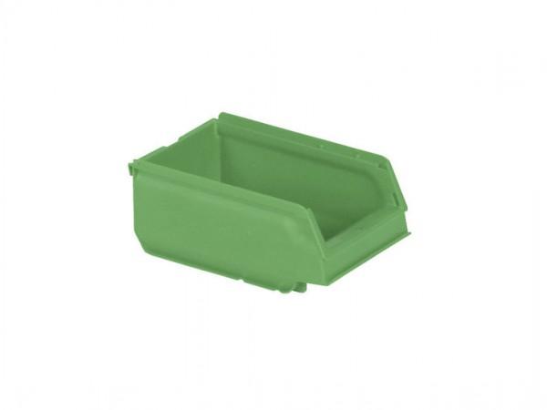 Kunststof magazijnbak - 170x105xH75mm - groen
