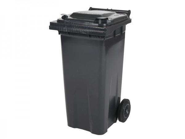 2-wiel afvalcontainer - 120 liter - grijs