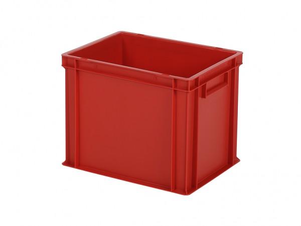 Stapelbak / Bordenbak - 400x300xH320mm - rood