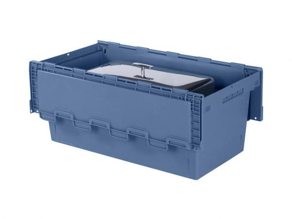 Chafing-dish bak 800x400xH340mm - blauw