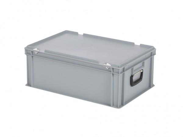 Koffer - 600x400xH235mm - grijs