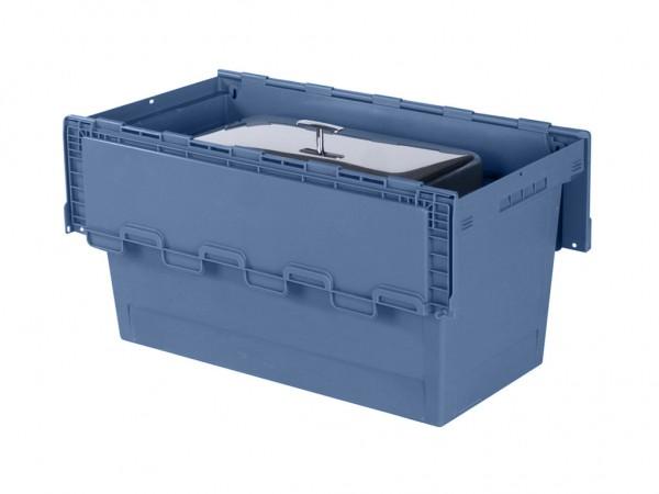 Chafing-dish bak 800x400xH440mm - blauw