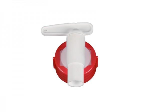 Uitloopkraan 15 mm - voor vaten met uitloop Ø 34 mm