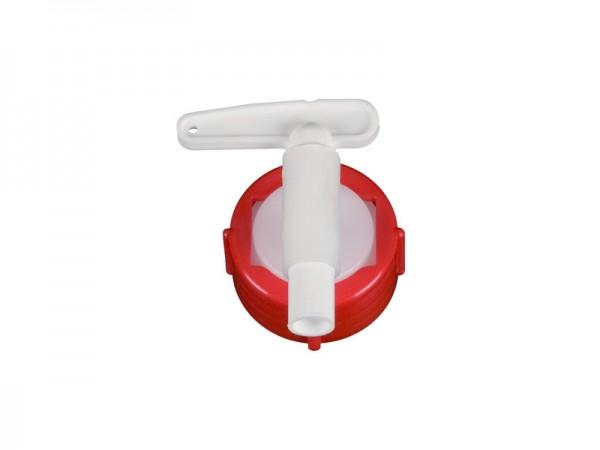 Uitloopkraan 10 mm - voor vaten met uitloop Ø 34 mm