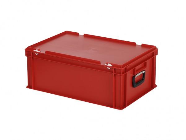 Koffer - 600x400xH235mm - rood