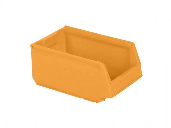 Kunststof magazijnbak - 350x206xH150mm - geel
