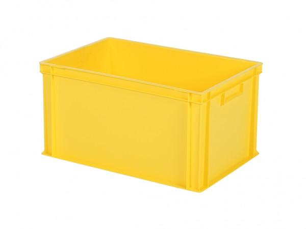 Stapelbak - 600x400xH320mm - geel
