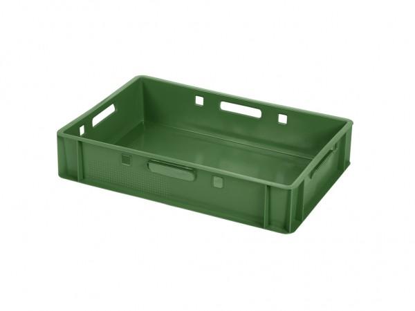 Stapelbak E1 - 600x400xH125mm - groen
