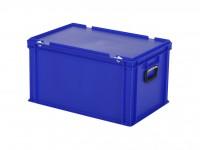 Koffer - 600x400xH335mm - blauw 30.632.KO.3