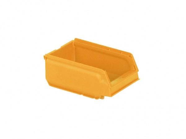 Kunststof magazijnbak - 170x105xH75mm - geel
