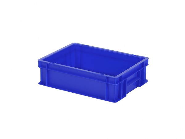 Stapelbak - 400x300xH120mm - blauw