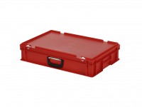 Koffer - 600x400xH135mm - rood 30.612.KO.4
