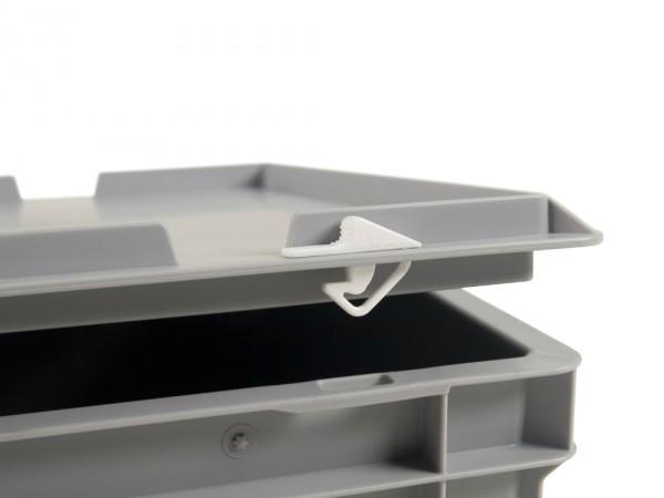 Set kunststof snap-schuifsluitingen - 2 stuks